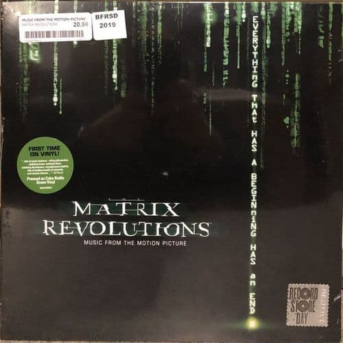 Various<br>The Matrix Revolutions: Music From The Motion Picture<br>LP,  + LP,  + RE